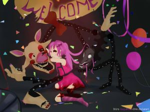 Welcome To Mangle's room by H1m3-Ch4n