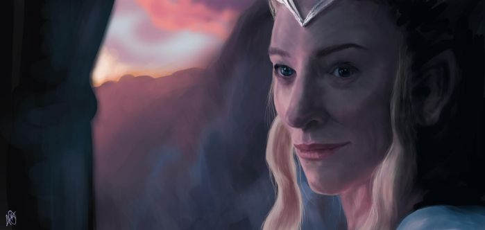 Galadriel Lady of Lorien by NGC-7293