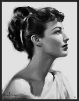 Ava Gardner by sahabiha