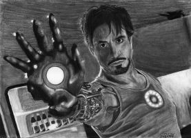 Iron Man's Iron Hand by ErikBjornor