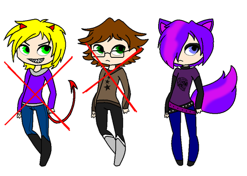 Adoptable Males - CLOSED by FunFancyFree-Adopts