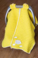 Crochet Car Seat Cover by Mary-SD