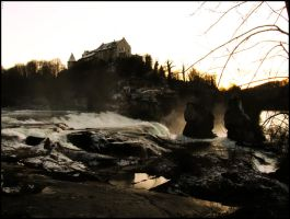 Rheinfall- sight of memory by unusualPhoto