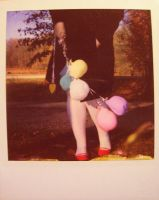 polaroid: red shoes series by DntFearThReapr