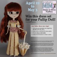 Free Raffle for Pullip Dress and Parasol Set by KerriaRosette