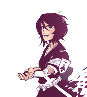 Rukia's return by Tiuni