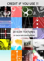Pack 20 icon textures by OmziiFairy22