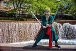 One Piece - Three Sword Style by dendensushi