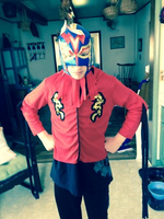 Me as a Japanese wrestler by CrazyIrishguy