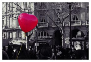 La Saint Valentin a Paris by lucky-april