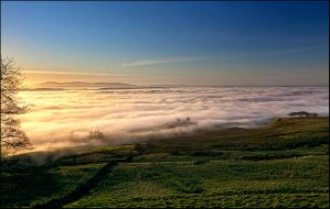 A sea of cloud by cliffsh