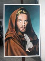 Obiwan painting by Fandias