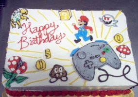 Nintendo Cake by Starjuice