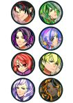 Makai Ouji badges by Daevaluque