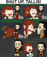 Hawke and Tallis Have a Catfight by DelicateRosebud