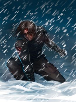 Captain America: The Winter Soldier - Snow by maXKennedy