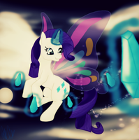 .:Shine Like Rarity:. by Silent-x-Sketch