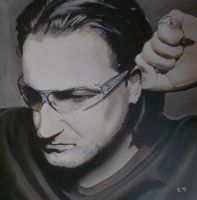 Bono -U2 by Bowiemaniac