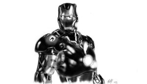 digital iron man by gianhet