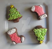 Chistmas mini cake by lifextime
