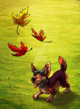 Brambles First Fall by SucittarSucivron