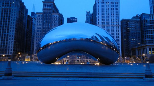 Cloud Gate, Chicago. (6) by aliohali