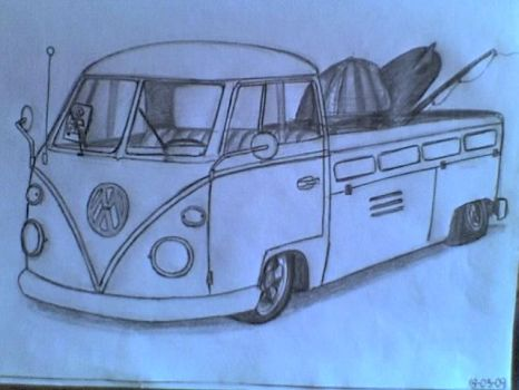 VW type2 Pick Up by prorider by volksmania