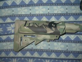 Multicam VLTOR Luna rifle (Crane stock pic) by StEaLtHlEaD