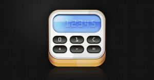 Calculator Icon by johannschill