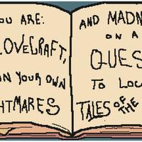 Lovecraft's Adventures Book by imrsn