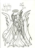 Hael War Picture: Uncoloured by xxxBrokenSoulxxx