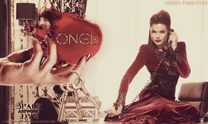 Lana Parrilla Once Upon A Time by Dyn by SpaceDynArtwork