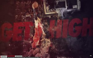 Blake Griffin Get High Wallpaper by Angelmaker666