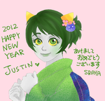 :33 Happy mew year by SRAYA