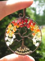 Burning Bush *SOLD* by RachaelsWireGarden