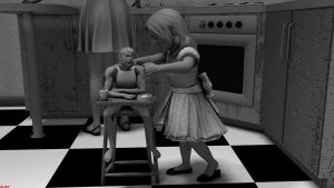 Incredible Shrinking Man - 45 Another Day in Hell by DrCreep