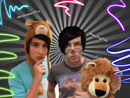 Dan and Phil are awesome by puddleish