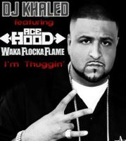 Dj Khaled Im Thuggin Album Cover by ZerJer97