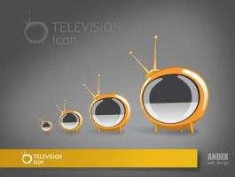 icon TV by AndexDesign