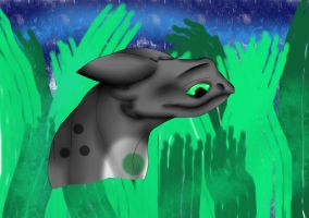 Really?(B-day,Gift) (SPEED PAINT) by ToothlessFury26
