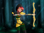 Fighting in the dark by ana-happy