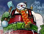 Frosty the Snowman - Bushi-style by Silent-Black