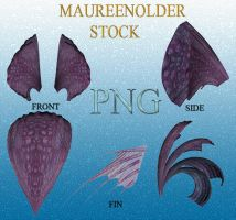 STOCK PNG purpleheadpeices by MaureenOlder