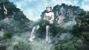 Morning of Buddha II by hoangphamvfx