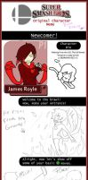 if james were in SSBB meme by punk-LUV