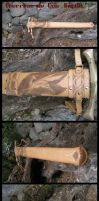 Hard leather sheath by Bear-Crafter
