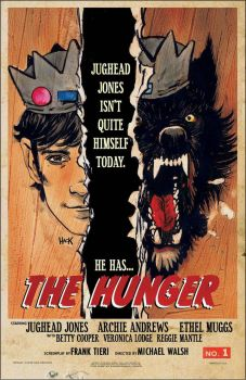 Jughead: The Hunger variant cover  by RobertHack