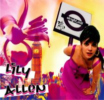 Lily Allen by boxchicken