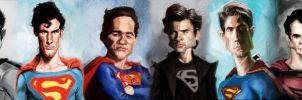 Evolution of Superman by DevonneAmos