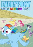 Everypony Loves Dash by tom-turbo